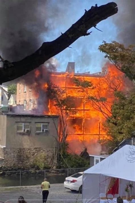 Massive Fire In Port Chester Displaces Apartment Building