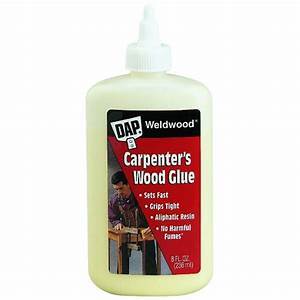 Woodworking Yellow Glue With Beautiful Brown Accent