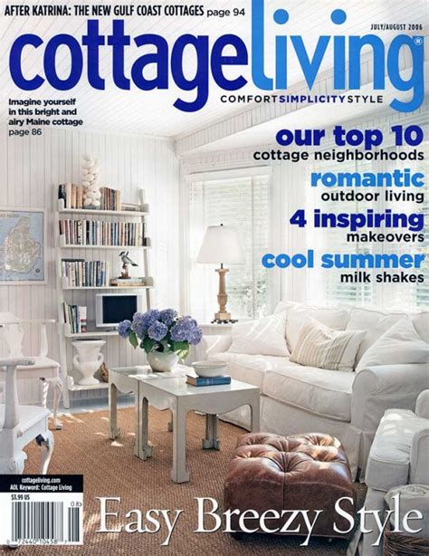 cottage living magazine featured in cottage living magazine michael k bell