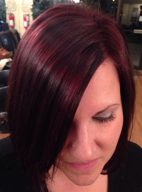 mahogany violet hair color hair mahogany hair rusk violet hair