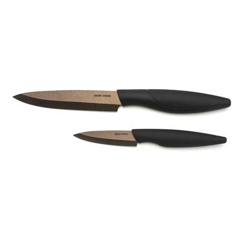 ceramic kitchen knives kitchen knife set titanium bronze ceramic