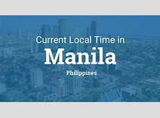 Current Local Time in Manila, Philippines