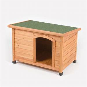 barkshire traditional flat top heat resistant waterproof With best deals on dog kennels