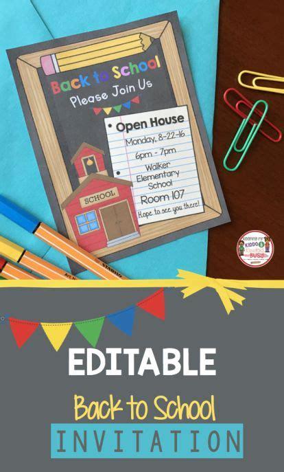 editable back to school open house meet the 129   2d13abadc8200b60f4a73e095a4383c5