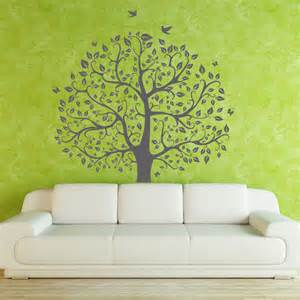 tree wall decals children nature green tree wall mural