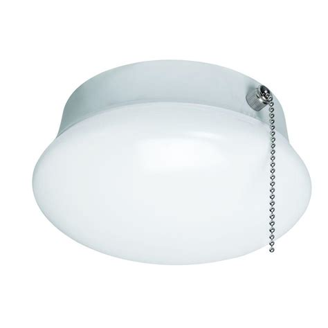 home depot ceiling lights with pull chains commercial electric 7 in bright white led ceiling