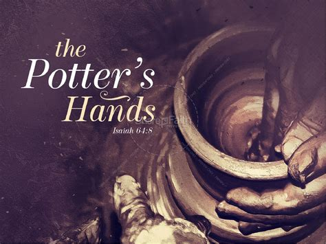 potters hands christian sermon powerpoint
