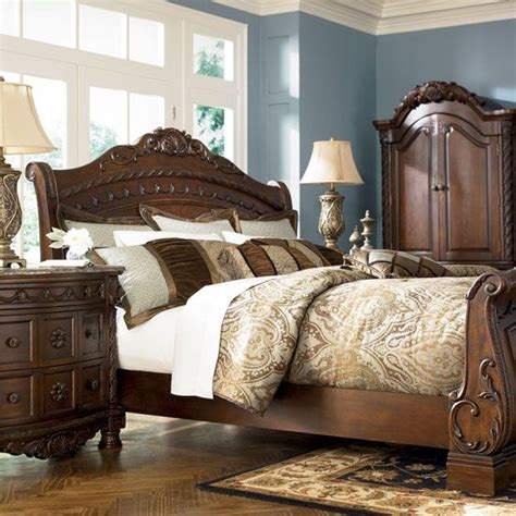 Shore Sleigh Bedroom Set by King Size Sleigh Bedroom Sets Home Bedroom Furniture