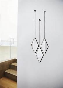 Miroir Design Suspendu Dima Lot De 3