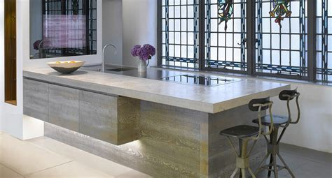 concrete kitchen design 11 ว สด ใช ทำ ท อปเคาน เตอร คร ว ส ดฮ ตในไทย บ านไอเด ย 2426