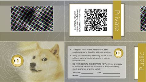 How To Make Paper Wallet Of Dogecoin   Paper Wallets ...