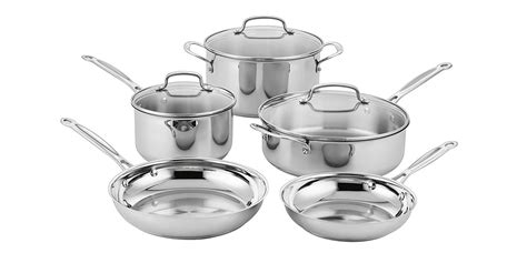 upgrade  kitchen  cuisinarts  piece stainless steel set   totoys