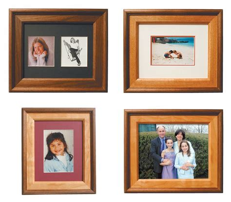 photo frames   dozen wood ideas woodworking