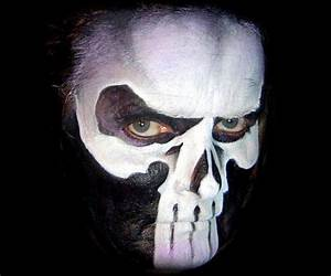 nice Men Scary Face Paint Ideas for Halloween | The Home ...
