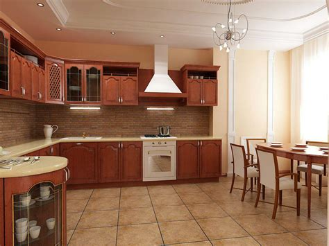 basic kitchen design  good appearance custom home design