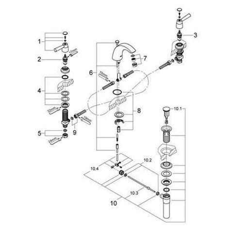 pegasus kitchen faucets kohler faucet diagram kohler free engine image for user