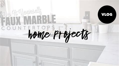 Contact Paper For Kitchen Countertops - diy faux marble countertops contact paper kitchen