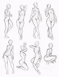 20  New For Poses Simple Female Figure Drawing