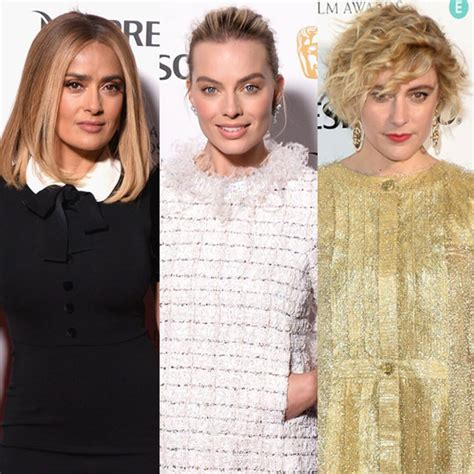 Blonde Salma Hayek Joins Margot Robbie and Greta Gerwig at ...