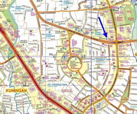 south  jakarta map jakarta mappery