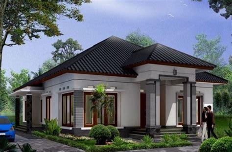 2 Simple Modern Homes With Simple Modern Furnishings by Gambar Desain Rumah Tak Dari Sudut Sing 1 Lantai