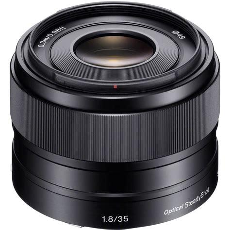 sony e 50mm f 1 8 oss lens silver sony e 35mm f 1 8 oss lens sel35f18 b h photo