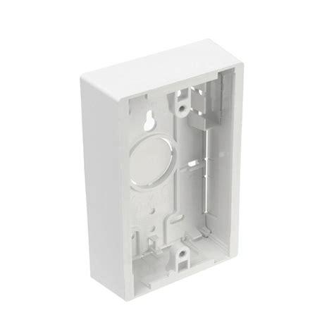 white kitchen faucets leviton 1 white surface mount wiring box r14 42777