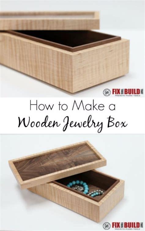 creative diy jewelry boxes  storage ideas