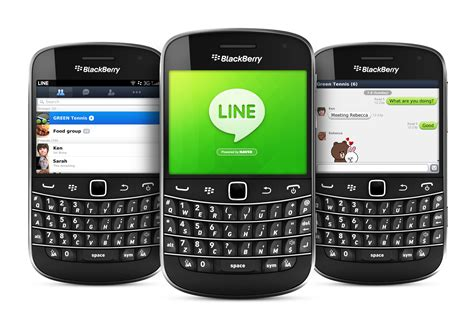 what is smartphone line access popular mobile messaging app line is released for blackberry