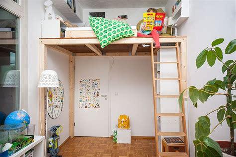 Kinderzimmer Junge Selber Bauen by Ein Hochbett Selber Bauen Diy Anleitung Kinderzimmer