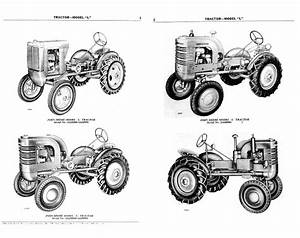 John Deere L Model Parts Catalog For Tractors
