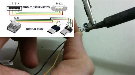cara membuat usb kabel otg electrical engineering