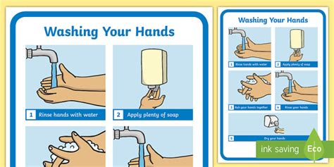 Washing Your Hands Display Poster  Washing Your Hands Display