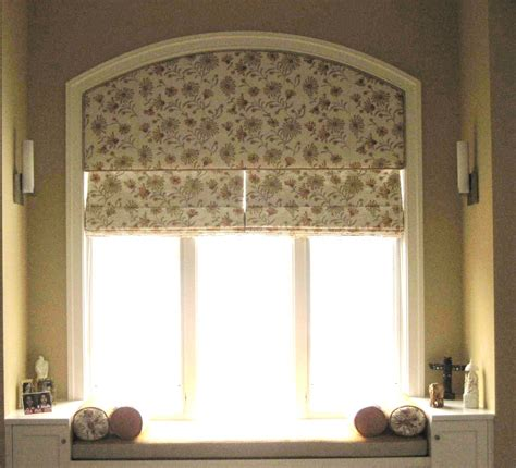 curtains arched window curtain rod   window