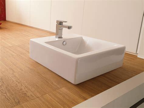 vasque carre a poser washbasins lavabo carr 233 by newform