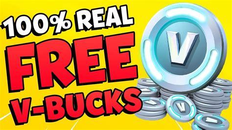 fortnite v bucks free how to get unlimited free v bucks 100 real