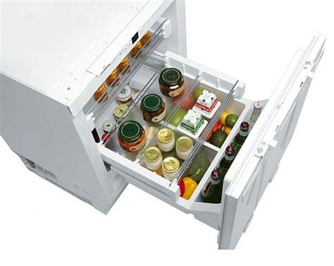 rangement tiroirs cuisine réfrigérateur tiroir encastrable sous plan tout utile 119l