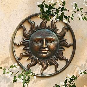 Metall Sonne Für Hauswand : wanddeko sonne von g rtner p tschke ~ Whattoseeinmadrid.com Haus und Dekorationen