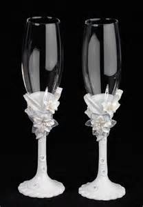 wedding wine glasses danzignito 39 s these wedding wine glasses are made all more special with their