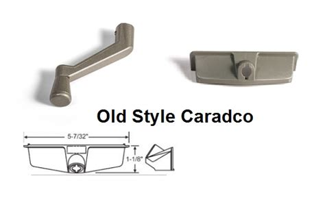 caradco casement window parts  style roto handle cover truth window hardware
