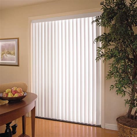 house of blinds white 3 5 in pvc vertical blind 78 in w x 84 in l