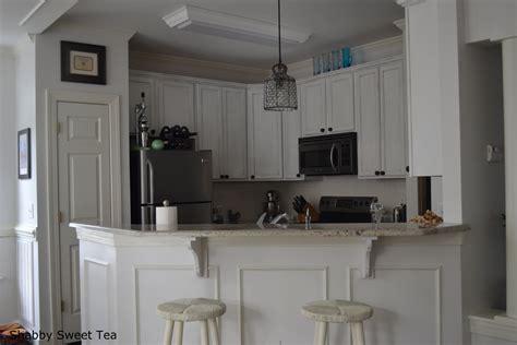 chalk paint ideas kitchen kitchen wood flooring and beadboard backsplash idea feat two tone chalk paint kitchen