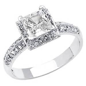 cz engagement rings white gold design wedding rings engagement rings gallery 14k white gold solitaire cubic zirconia
