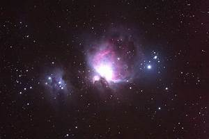Orion Nebula through Telescope - Pics about space