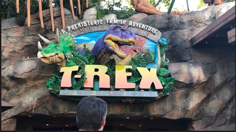 Super Cool T-rex Themed Restaurant At Disney Springs
