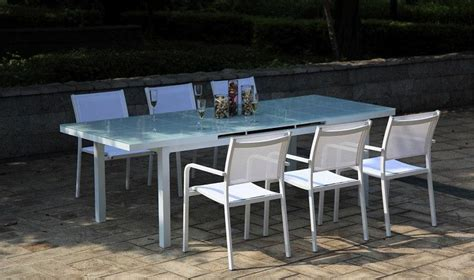 Table Jardin Alu Verre by Catgorie Table De Jardin Du Guide Et Comparateur D Achat