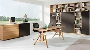 Sekretär Nussbaum Modern : home office von team 7 im einrichtungshaus h lzlwimmer ~ Michelbontemps.com Haus und Dekorationen