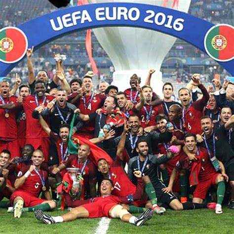 There's loads to come soon, so subscribe and keep your eyes peeled for top 10s and a whole lot more! Portugal teammates posing with EURO 2016 trophy after ...