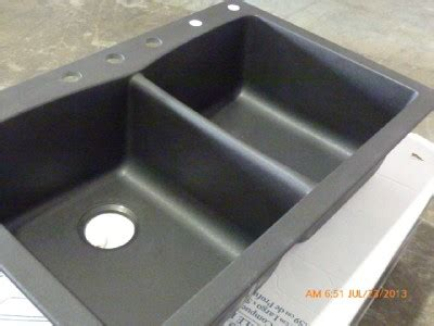 Pegasus Kitchen Sinks Granite by Pegasus 291655 Slate Composite Granite Bowl Kitchen