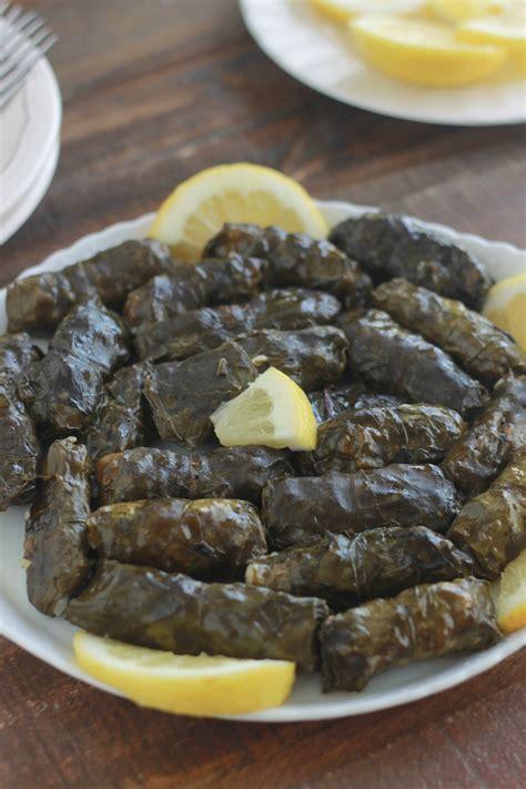 recette cuisine libanaise feuilles de blettes farcies à la viande recette libanaise